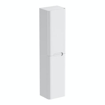 Mode Planet white wall hung cabinet
