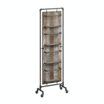 Reeves Sawyer tall storage rack