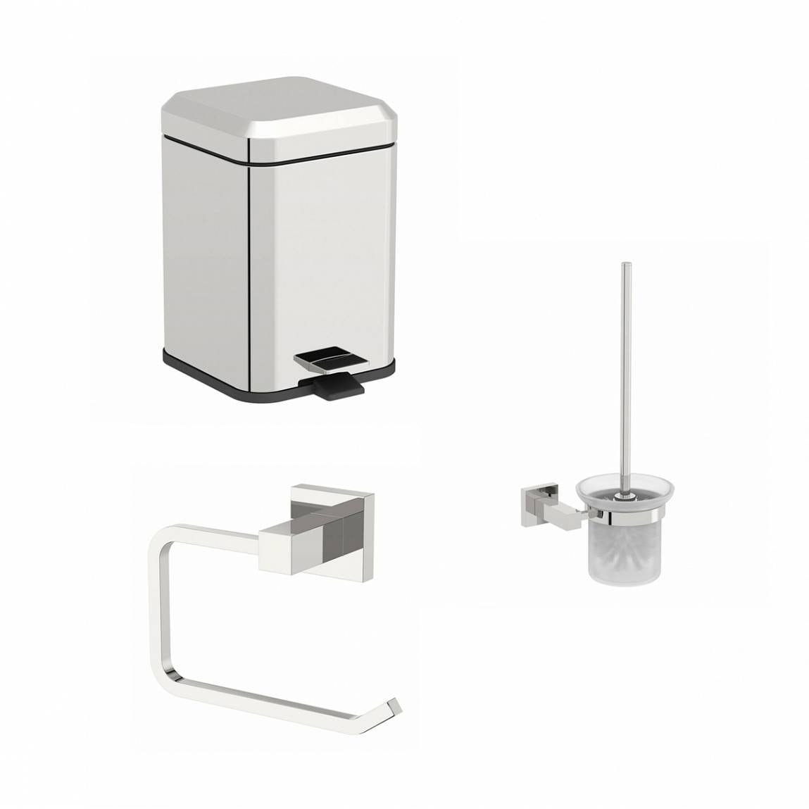 Cubik toilet accessory set for Washroom set