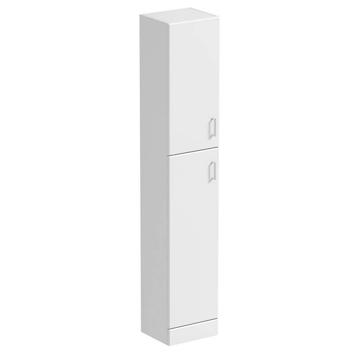Slimline Wall Cabinet White Tall Wall Cabinet 300