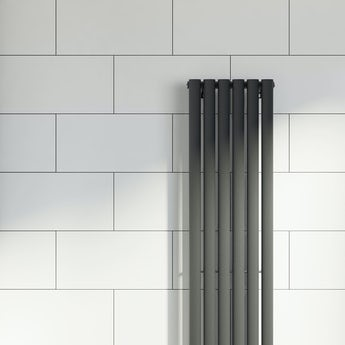 Pure white satin tile 298mm x 498mm