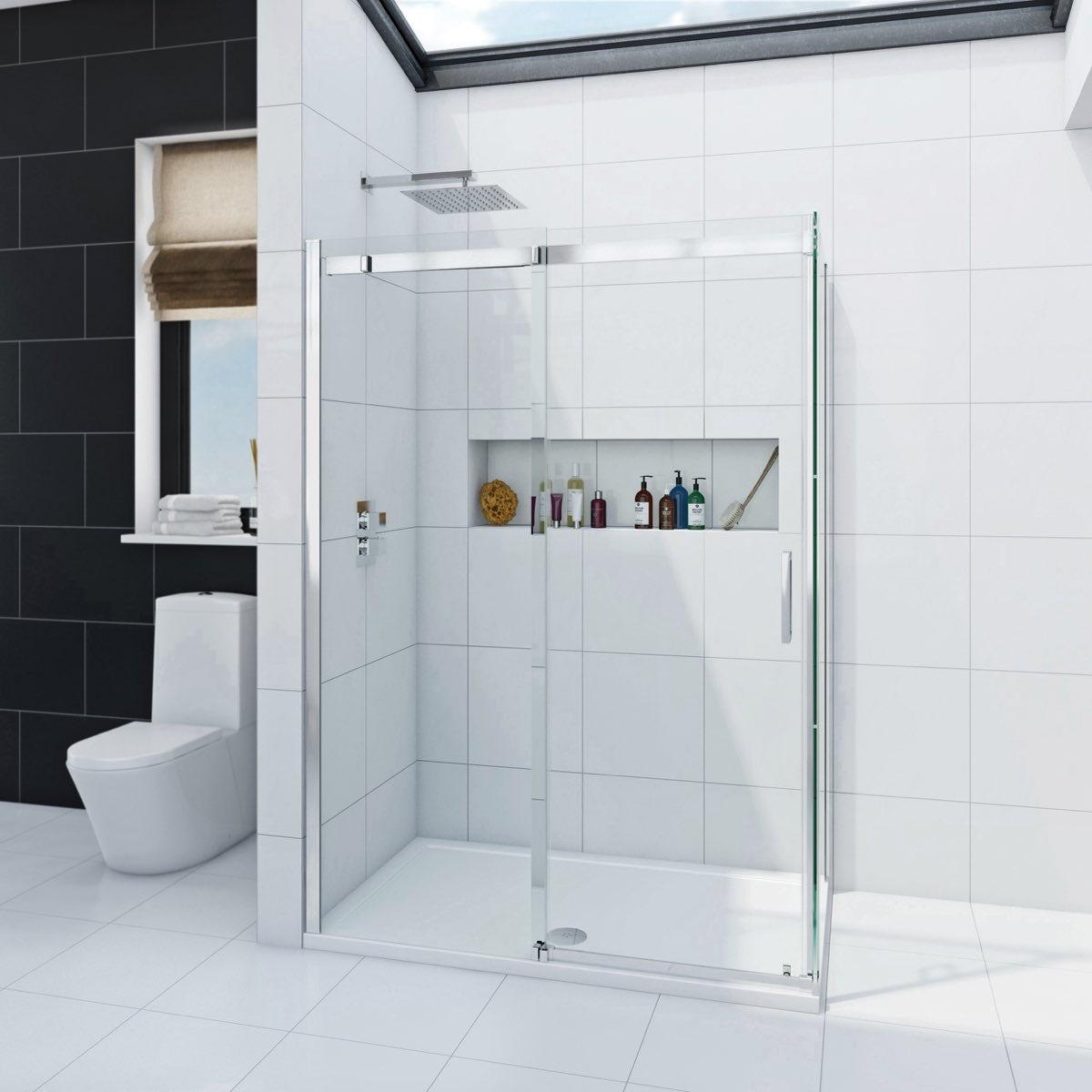 Mode Infiniti 8mm Rectangular Shower Enclosure