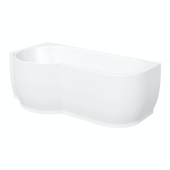 Mode Maine left handed P shaped shower bath