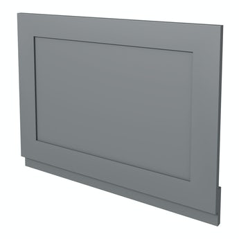The Bath Co. Camberley grey wooden straight bath end panel 700mm