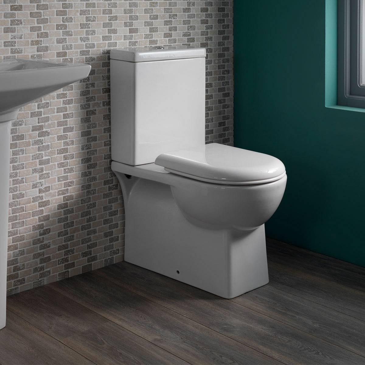 Brent Close Coupled Toilet Inc Seat Victoriaplum Com