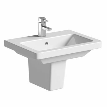 Mode Verso semi pedestal basin 550mm