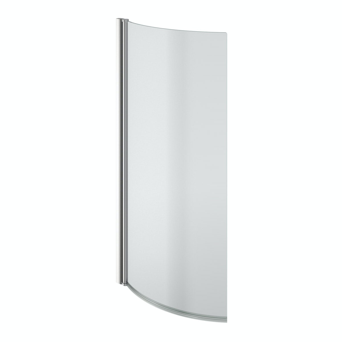 evesham right handed p shaped shower bath 1675mm with 5mm cruze p shaped 1700mm curved shower bath with screen and