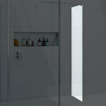 Wet room glass accessories for Wet room shower screen 400mm