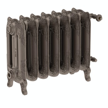 Terma Oxford russet freestanding cast iron radiator 470 x 606