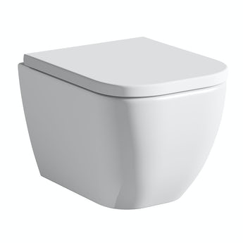 Mode Positano wall hung toilet inc soft close seat