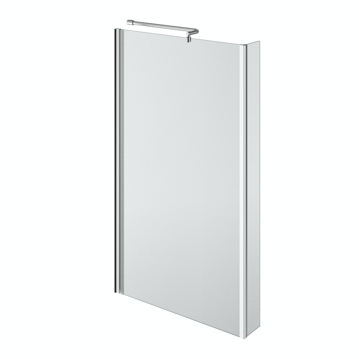boston right handed l shaped shower bath 1700mm with 5mm