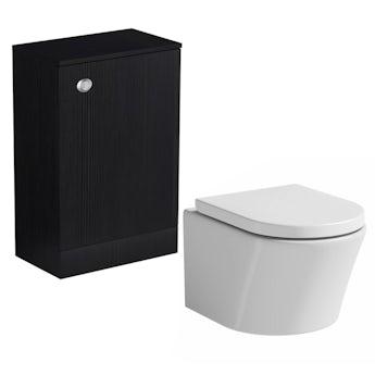 Arden essen back to wall toilet unit with Mode Arte toilet