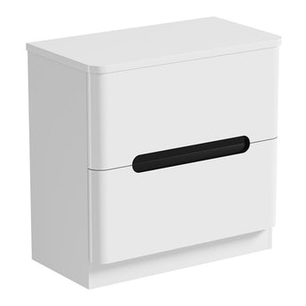 Mode Planet select essen vanity drawer unit and countertop 800mm