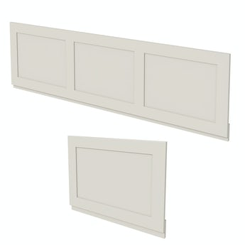 The Bath Co. Camberley ivory panel pack