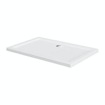 Rectangular stone shower tray 1100 x 700